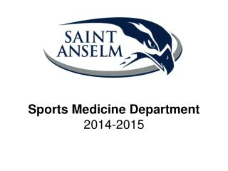 Sports Medicine Department 2014-2015
