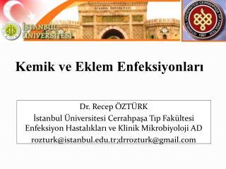 Dr. Recep ÖZTÜRK