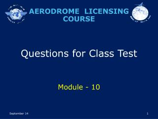 Questions for Class Test Module - 10