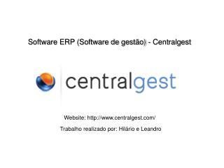 Software ERP (Software de gestão) - Centralgest