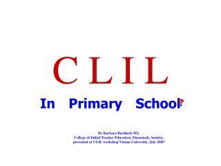C L I L