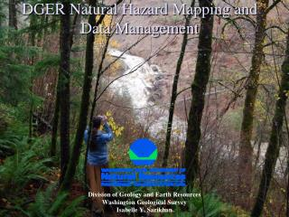 DGER Natural Hazard Mapping and Data Management