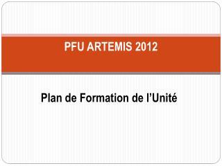 PFU ARTEMIS 2012