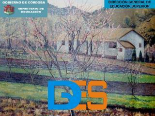 DIRECCIÓN GENERAL DE EDUCACIÓN SUPERIOR
