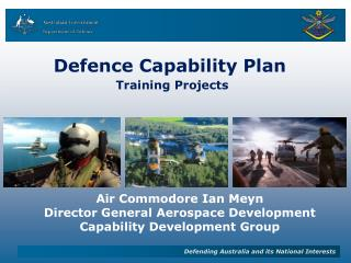 Defence Capability Plan Training Projects