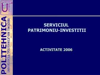 ACTIVITATE 2006