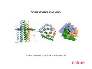 D Li et al.  Nature  000 ,  1 - 4  (2012) doi:10.1038/nature 12179