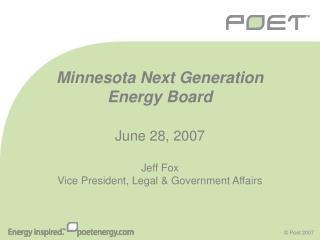 Minnesota Next Generation Energy Board