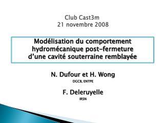 Club Cast3m  21 novembre 2008