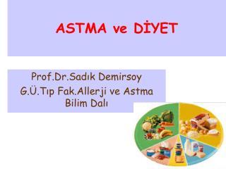 ASTMA ve DİYET