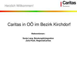 Caritas in OÖ im Bezirk Kirchdorf