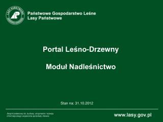 Portal Leśno-Drzewny Moduł Nadleśnictwo