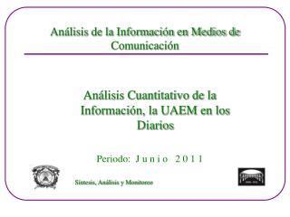 Análisis de la Información en Medios de Comunicación