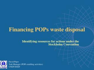 Financing POPs waste disposal