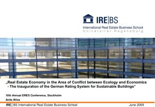IRE│ BS International Real Estate Business School                         June 2009