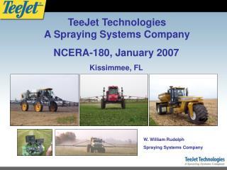 NCERA-180, January 2007 Kissimmee, FL