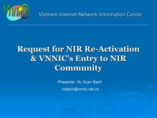 Vietnam Internet Network Information Center
