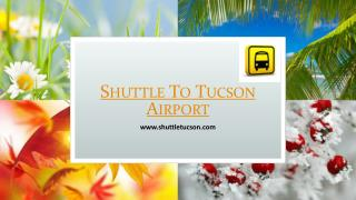Shuttle To Tucson Airport | www.shuttletucson.com