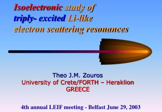 Isoelectronic study of triply- excited  Li-like  electron scattering resonances