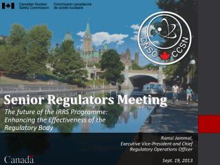 Senior Regulators Meeting