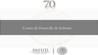 Centro de Desarrollo de Software