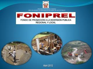 FONDO DE PROMOCIÓN A LA INVERSIÓN PÚBLICA REGIONAL Y LOCAL