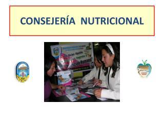 CONSEJERÍA  NUTRICIONAL