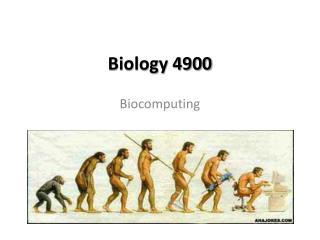 Biology 4900