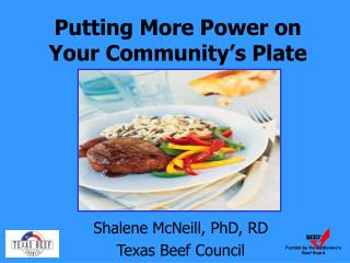 Putting More Power on Your Community's Plate