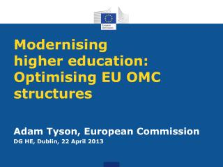 Modernising  higher education: Optimising EU OMC structures