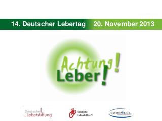 14. Deutscher Lebertag