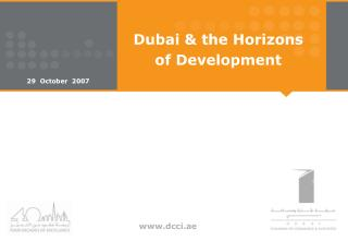 Dubai & the Horizons  of Development