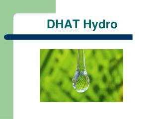 DHAT Hydro