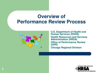 Overview of  Performance Review Process