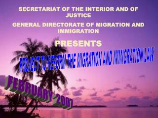 HONDURAS AND ITS HISTORICAL INSTITUTIONALITY IN MIGRATION MATTERS