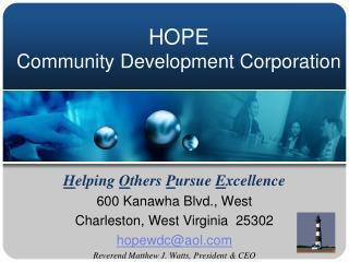 HOPE  Community Development Corporation