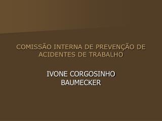COMISS O INTERNA DE PREVEN  O DE ACIDENTES DE TRABALHO