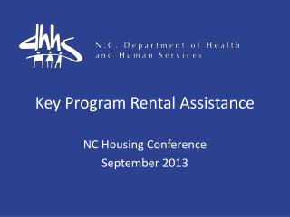 Key Program Rental Assistance