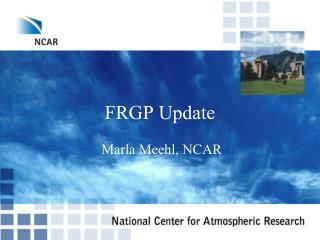 FRGP Update