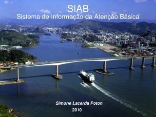 SIAB Sistema de Informação da Atenção Básica