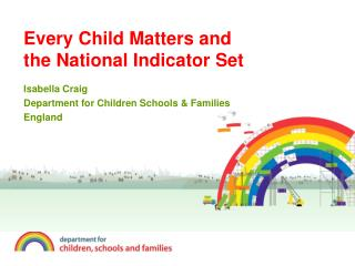 Every Child Matters and the National Indicator Set