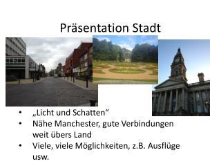 Präsentation Stadt