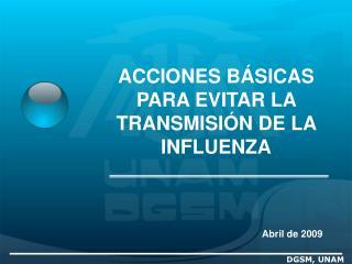 DGSM, UNAM
