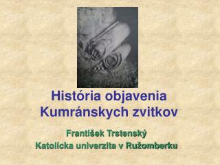 František Trstenský Katolícka univerzita v Ružomberku