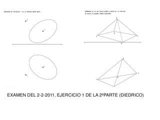 EXAMEN DEL 2-2-2011, EJERCICIO 1 DE LA 2ªPARTE (DIEDRICO)