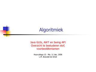 Algoritmiek