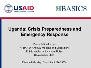 Uganda: Crisis Preparedness and Emergency Response