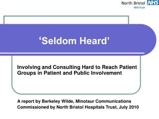 ' Seldom Heard'