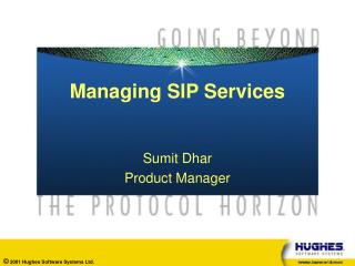 Managing SIP Services