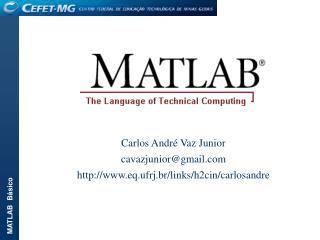 Carlos André Vaz Junior cavazjunior@gmail eq.ufrj.br/links/h2cin/carlosandre